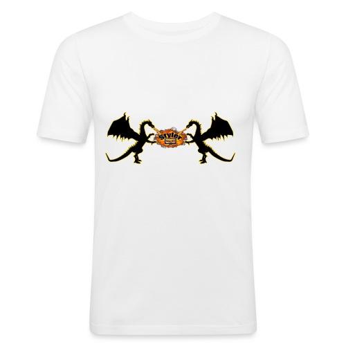 Styler Draken Design - Mannen slim fit T-shirt