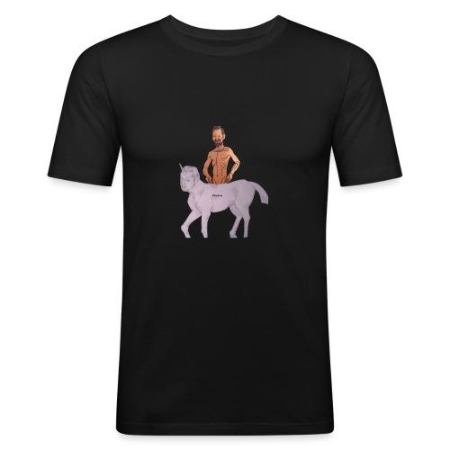 Das Biturmemehorn - Männer Slim Fit T-Shirt