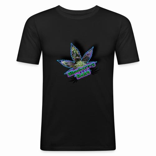 Blueberry Haze - Men's Slim Fit T-Shirt