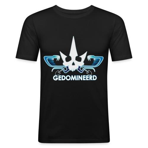 Gedomineerd - Mannen slim fit T-shirt