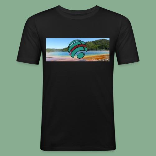 Yellowstone - Grand Prismatic - T-shirt près du corps Homme
