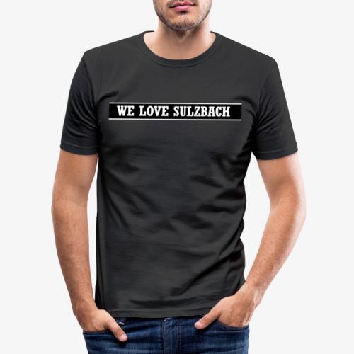 WeLoveSulzbach - Männer Slim Fit T-Shirt