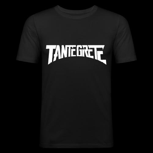 Tante Grete - Männer Slim Fit T-Shirt