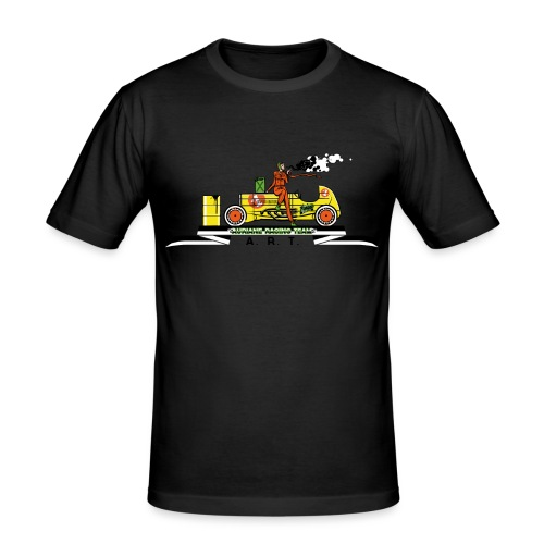 Racing Team - Männer Slim Fit T-Shirt