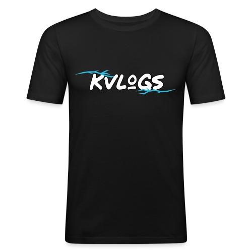 K Vlogs - Mannen slim fit T-shirt