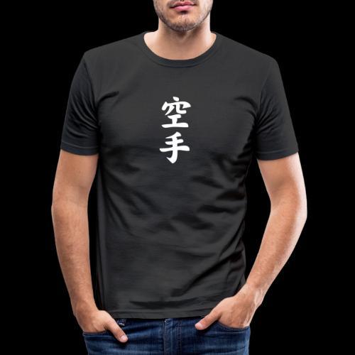karate - Obcisła koszulka męska