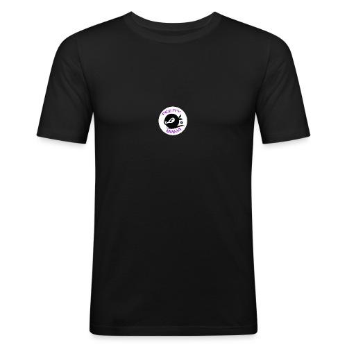 Official Pretty Ninja Logo - Men's Slim Fit T-Shirt