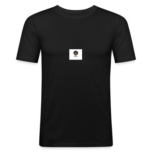 RIBO logo - Mannen slim fit T-shirt