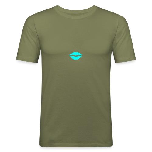 Blue kiss - Men's Slim Fit T-Shirt