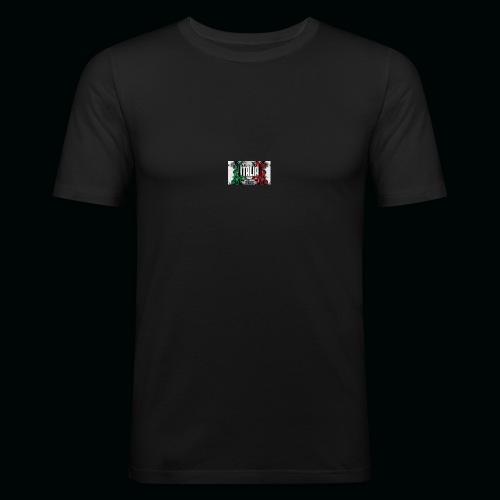 hardcore1 - T-shirt près du corps Homme