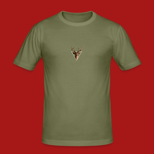 Deer-Head GOLD - Herre Slim Fit T-Shirt