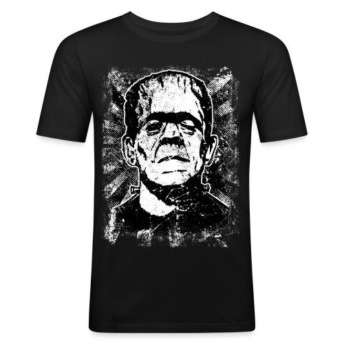 Boris Karloff/Frankenstein vintage sw - Männer Slim Fit T-Shirt