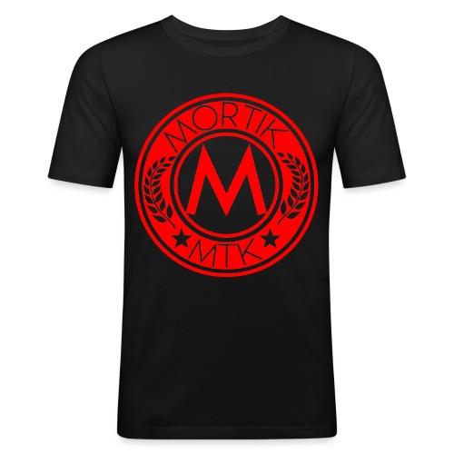 logo MORTIK Roma Rouge png - T-shirt près du corps Homme