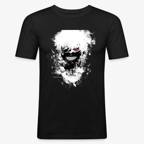 Kaneki Eye Patch - Men's Slim Fit T-Shirt