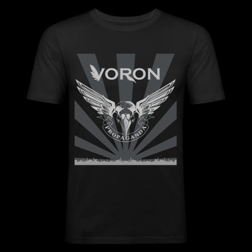 Voron - Propaganda - T-shirt près du corps Homme
