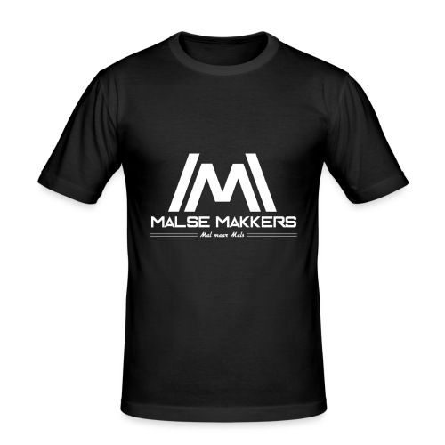 Malse Makkers - Mannen slim fit T-shirt