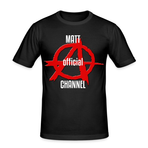 MATT official CHANNEL - Maglietta aderente da uomo