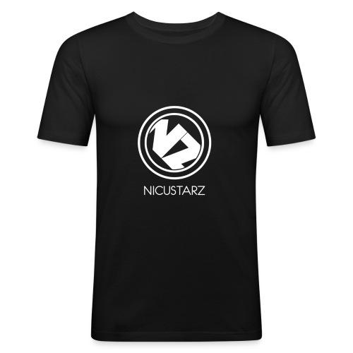 Nicustarz Circle - T-shirt près du corps Homme