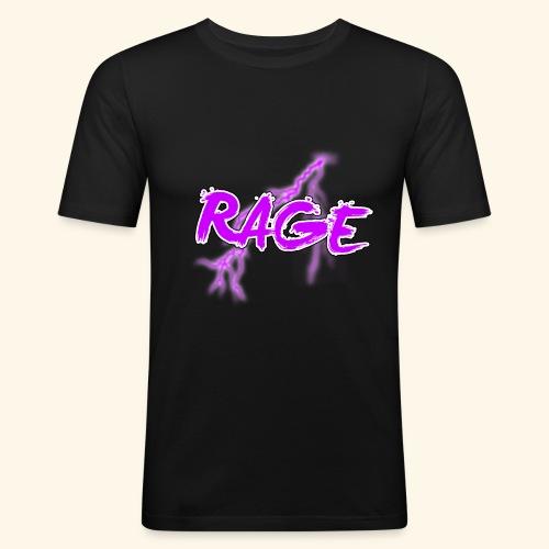 Logo rage - T-shirt près du corps Homme
