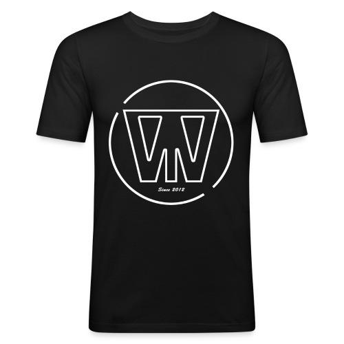 W/T Logo Tee - Hvid - Herre Slim Fit T-Shirt