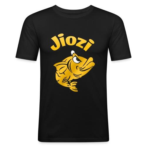Jiozi Official Logo - Maglietta aderente da uomo