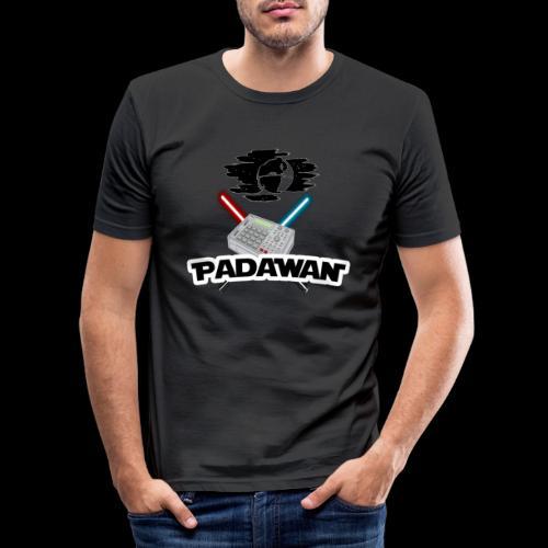 Padawan Blanc - T-shirt près du corps Homme