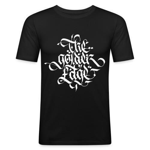 The Golden Edge Logo - Maglietta aderente da uomo