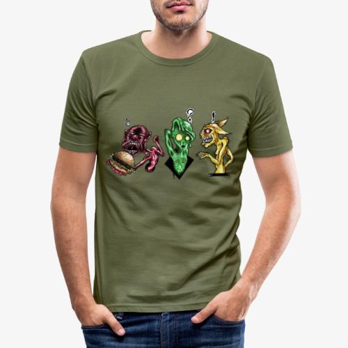 Weird communication - T-shirt près du corps Homme