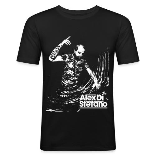 alex2 - Mannen slim fit T-shirt