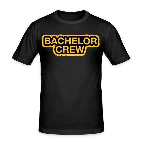 Bachelor Crew - Bachelor T-Shirt - Bräutigam Shirt - Männer Slim Fit T-Shirt