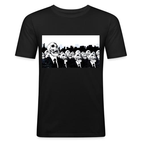 Det är abdis desgning - Slim Fit T-shirt herr