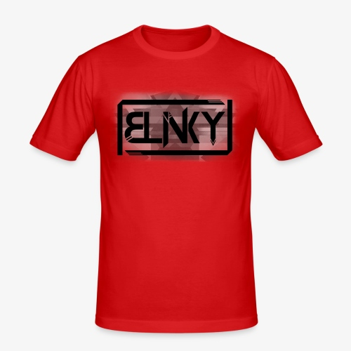 Blinky Compact Logo - Men's Slim Fit T-Shirt