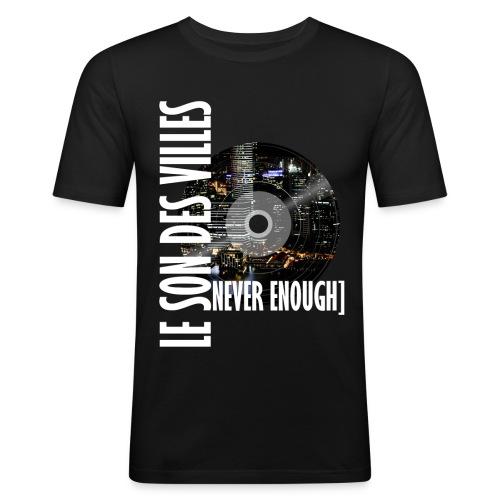 Le Son Des Villes : World Vinyl - T-shirt près du corps Homme