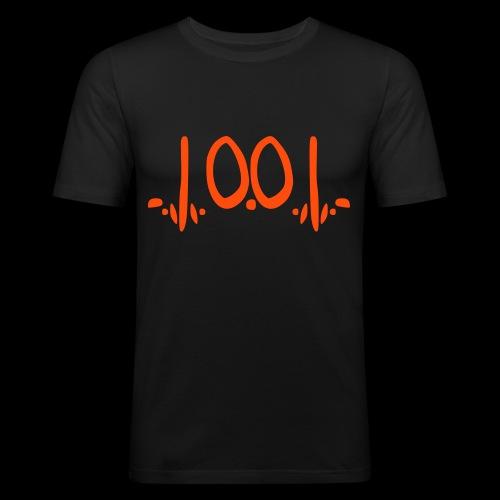 fukOf - Männer Slim Fit T-Shirt
