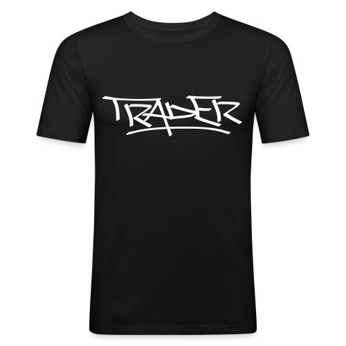 Trader - Men's Slim Fit T-Shirt