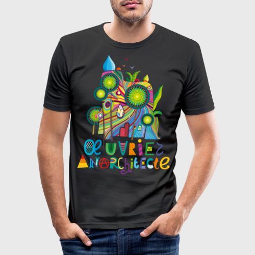 Anarchitecte - T-shirt près du corps Homme