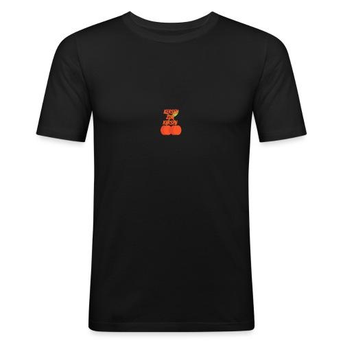 Kersen Zijn Kersen - Mannen slim fit T-shirt