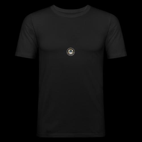 Tårnby FF logo - Herre Slim Fit T-Shirt