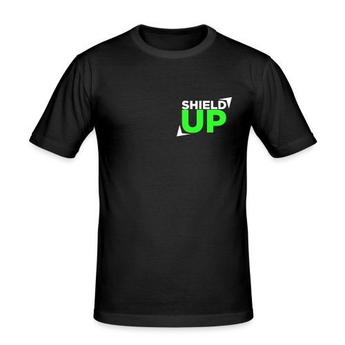 Shield Up green png - Men's Slim Fit T-Shirt