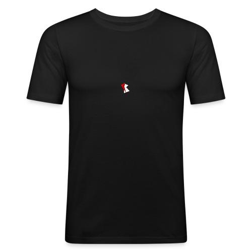Collection #2 Liten Logo - Slim Fit T-shirt herr