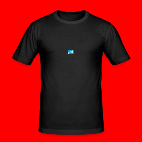 pd Blue - Herre Slim Fit T-Shirt