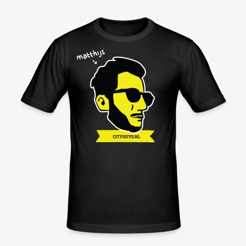 CITYGUYS SHIRT MATTHIJS - slim fit T-shirt