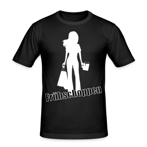 FrühschoppenInverted - Männer Slim Fit T-Shirt