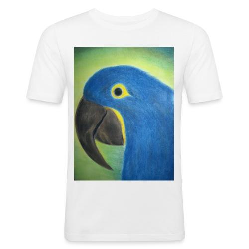 Hyasinttiara - Miesten tyköistuva t-paita