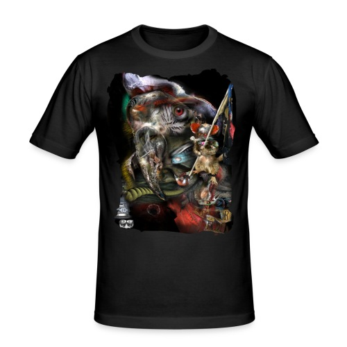 parrot - Mannen slim fit T-shirt