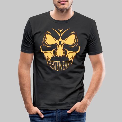 #Bestewear - Bad Punisher - Männer Slim Fit T-Shirt