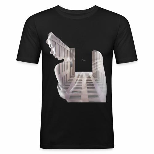 Lady House Exposure - Men's Slim Fit T-Shirt