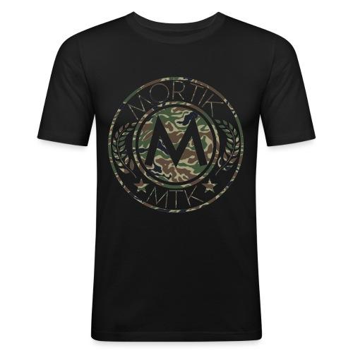 logo MORTIK Roma Camo édition png - T-shirt près du corps Homme