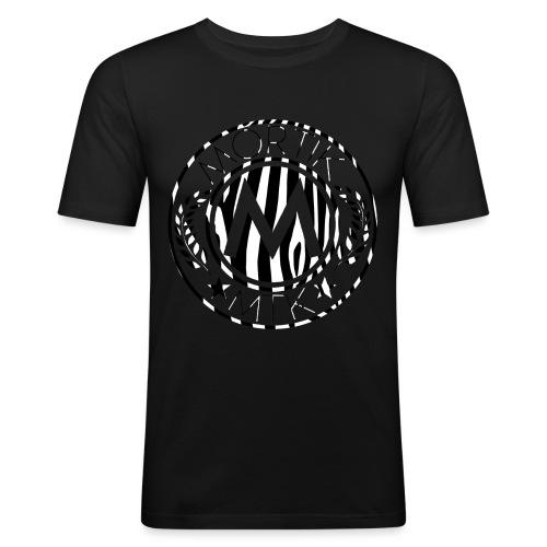 logo MORTIK Roma Zébra édition png - T-shirt près du corps Homme