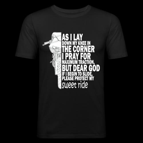 As I Lay Down My Knee XB12-R - Slim Fit T-shirt herr